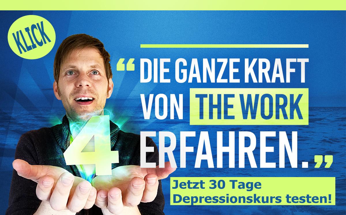 Raus aus dem Chaos im Kopf - Besiege Deine Depression mit meinen Videokursen zu The Work.